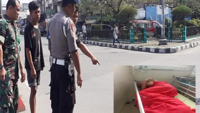 Photo of Gempar! Polisi Lompat Dari Fly Over Jalan Jamin Ginting Medan