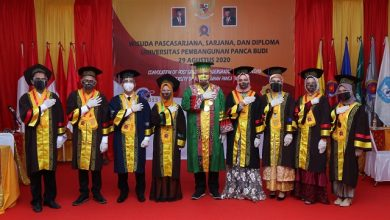 Photo of Perdana Wisuda Daring, Universitas Panca Budi Wisuda 600 Lulusan